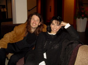 After concert with Laura Figy