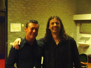 After concert with Nouche Rosenberg