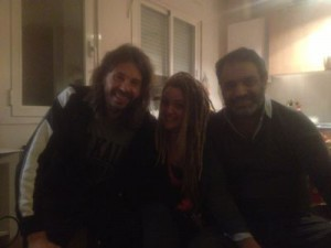 Rehearsal in Madrid with Naike Ponce and el Paquete